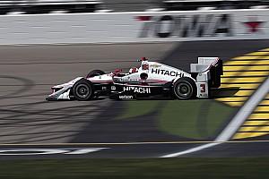 IndyCar Relato da corrida Castroneves encerra jejum de três anos e vence em Iowa