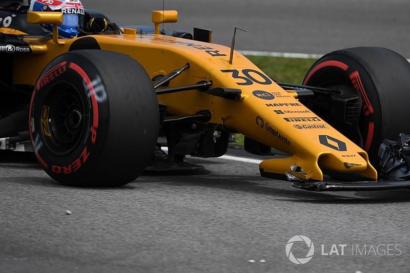 Videón a Verstappen-Palmer baleset