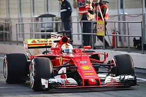 Формула 1 Новость Феттель на секунду побил прошлогоднее время первого дня тестов