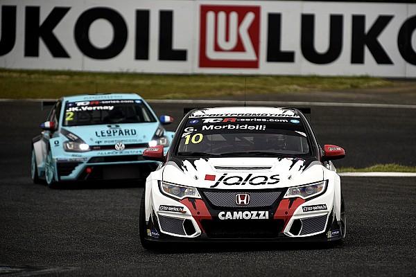 TCR TCR в Ешторілі: Морбілеллі переграє Хомола в першій гонці