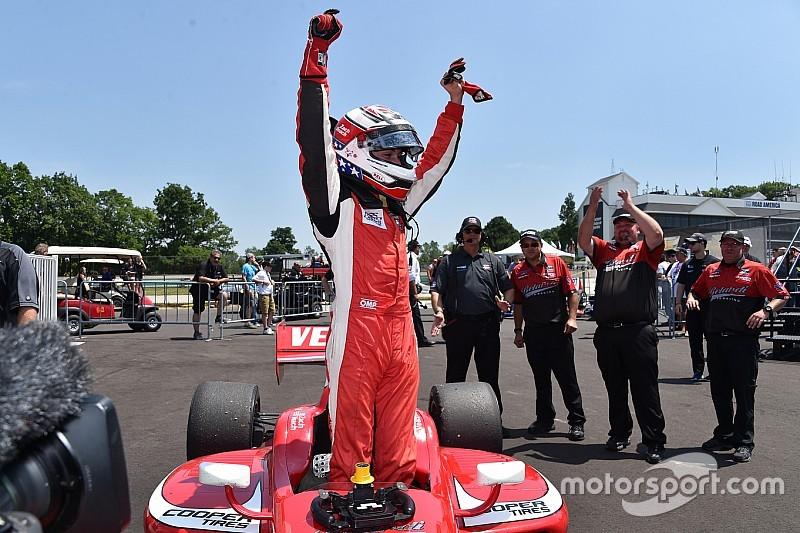 """Віч """"абсолютно готовий до IndyCar"""", каже керівник команди в Lights"""