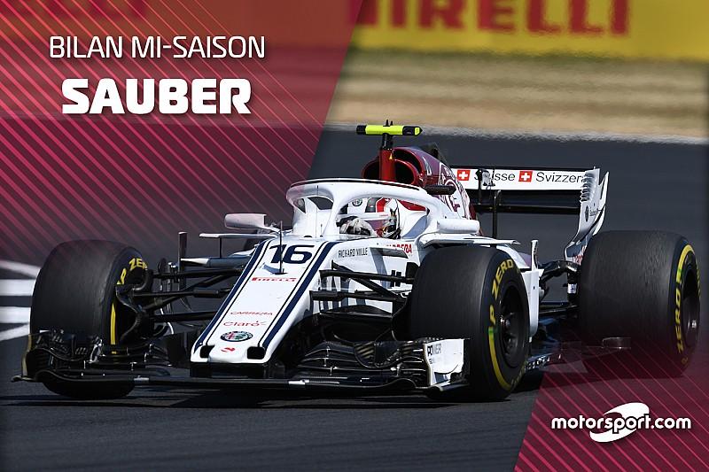 Bilan mi-saison - Sauber et Leclerc comme l'éclair