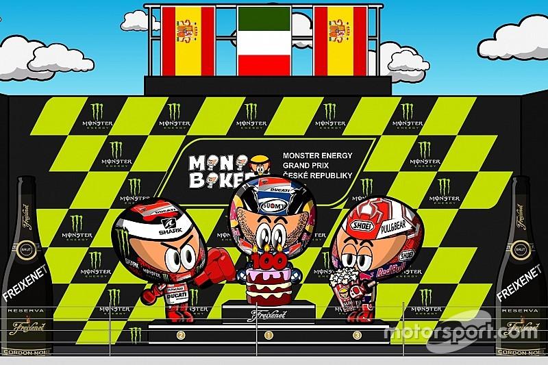 Vídeo: el GP de la República Checa 2018 de MotoGP, por MiniBikers