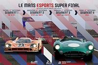 Livestream: Le Mans Esports Super Final – for 2010s cars