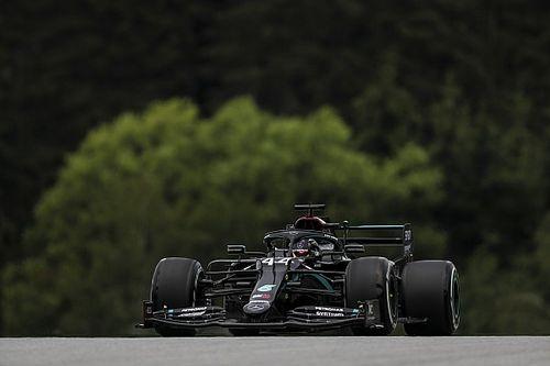 F1: Hamilton lidera dobradinha da Mercedes em um movimentado treino livre na Áustria