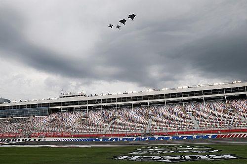 Rain forces NASCAR to postpone Charlotte II to Thursday
