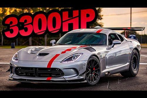 3.300 CV per una Dodge Viper mostruosa