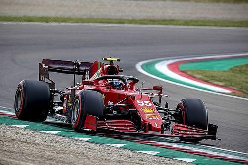 """F1: Sainz diz que resultado em Ímola """"expôs"""" falta de quilometragem com a Ferrari"""