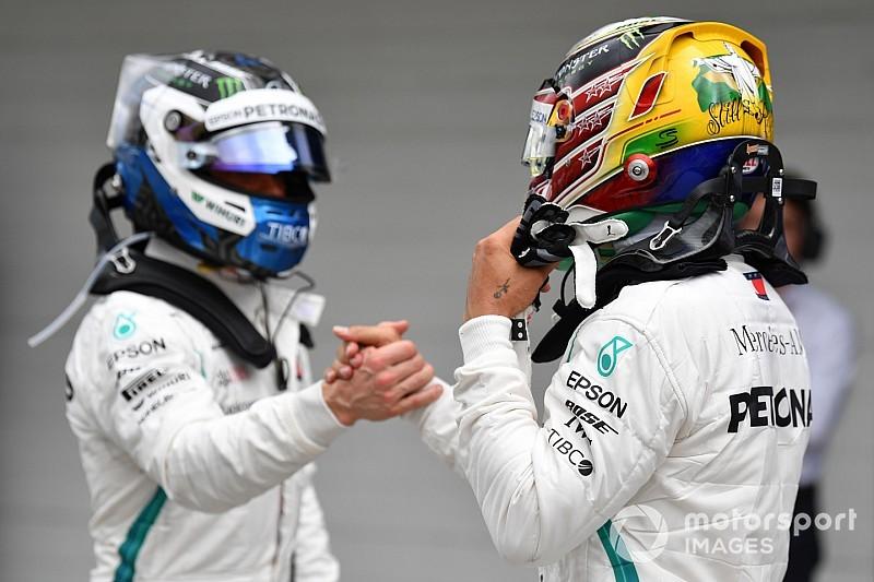 """Mercedes: Bottas é """"piloto alfa"""" assim como Hamilton"""