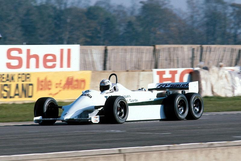 Retro: De zeswieler van Williams die nooit werd ingezet