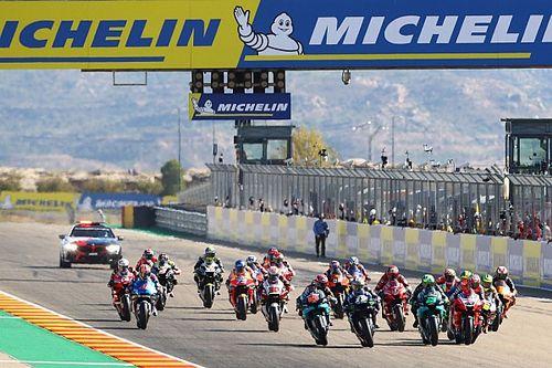 La parrilla de salida del GP de Teruel de MotoGP 2020