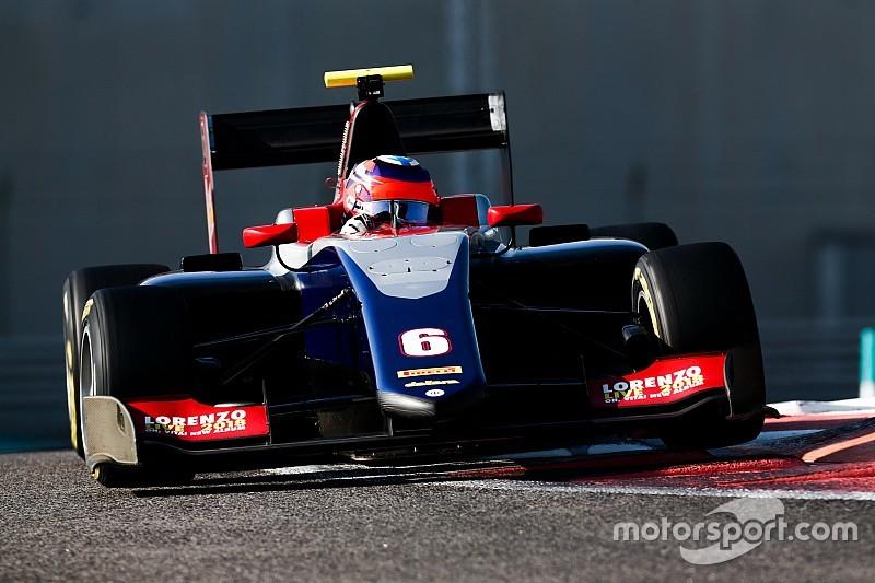 Kari topt eerste dag van GP3-test in Abu Dhabi