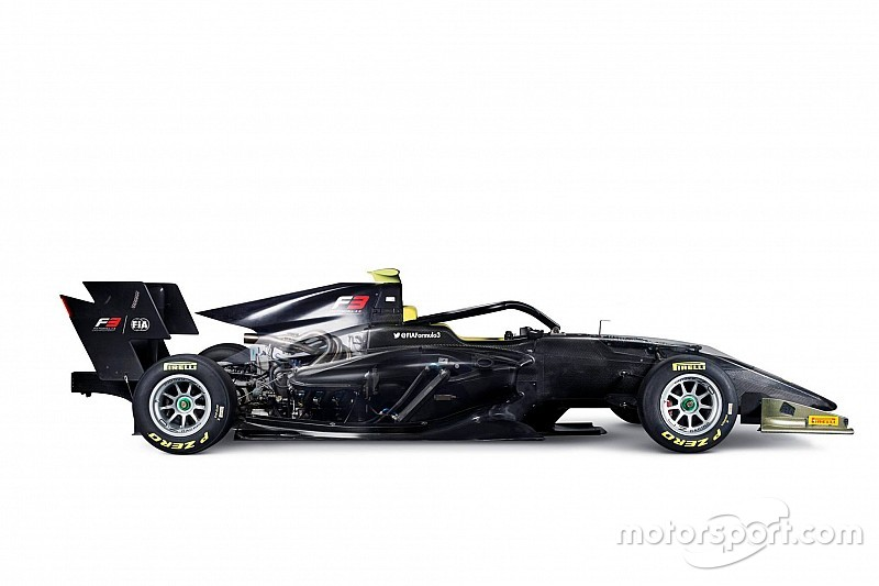 La monoplace de FIA F3 dévoilée à Abu Dhabi