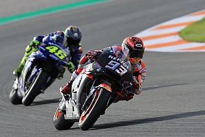 """Rossi se refere a Márquez como """"valente"""" e diz que o estuda"""