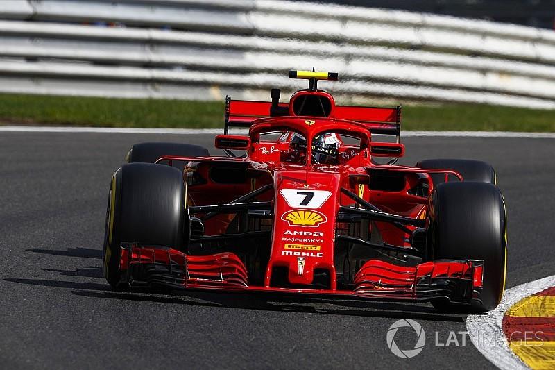 Belçika GP 2. antrenman: Raikkonen, Hamilton'ın önünde lider!