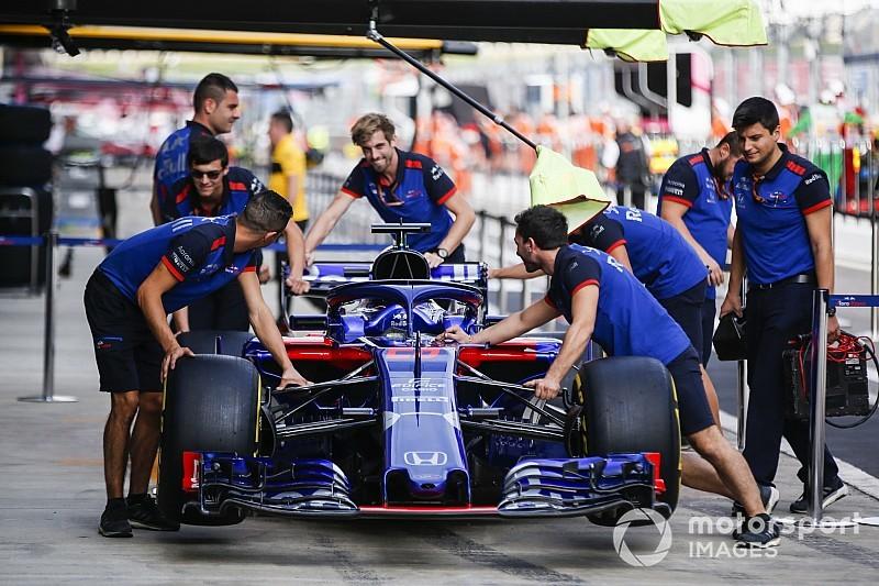 Toro Rosso actualiza su motor Honda y sus pilotos serán penalizados