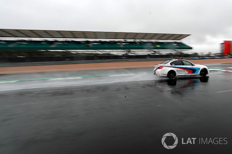 Silverstone track surface has