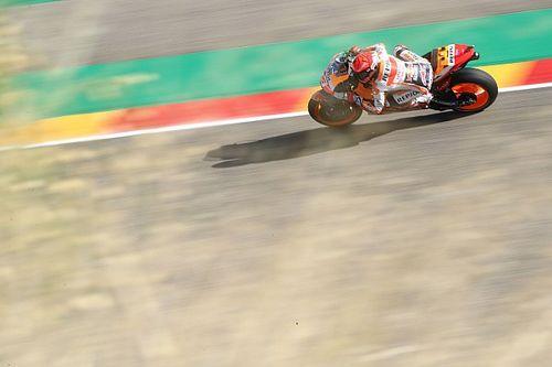 マルク・マルケス、今季のバイクに適応するのに苦しむ「普通の乗り方で乗ると、すぐクラッシュしてしまう」