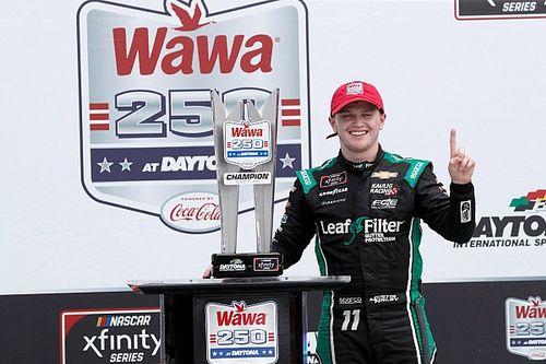 Justin Haley wins Daytona Xfinity race with dramatic 3-wide pass