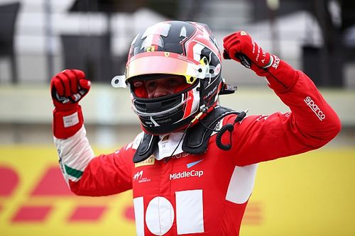 """Leclerc marked maiden F3 win with """"emotional"""" moment with brother"""