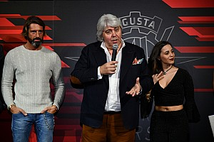 Fotostrecke: Präsentation des MV Agusta Forward Racing Teams