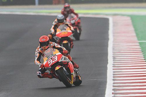 Marc Marquez Terbantu Cuaca dalam MotoGP Emilia Romagna