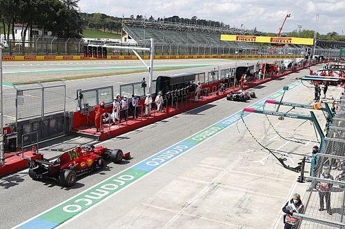 Una falla en la fibra óptica afectó los datos de la F1 en Imola