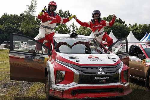 Rifat Sungkar Bawa XRT Menangi Seri Pertama Kejurnas Sprint Rally 2021