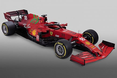 Formel 1 2021: Der neue Ferrari SF21 in Bildern