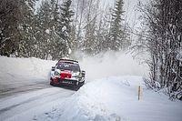 WRC: las mejores fotos del arranque del Artic Rally sobre la nieve