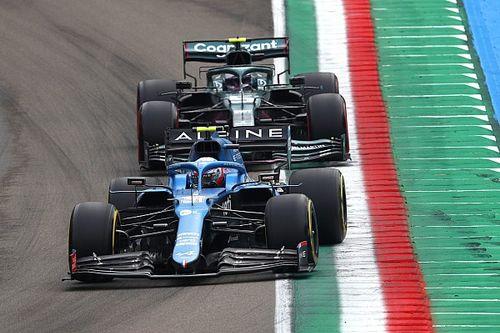 F1: Alpine crê que novidades de Ímola podem ir bem em outros GPs