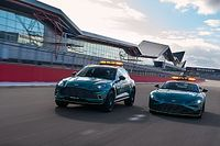 Aston Martin muestra el coche de seguridad para la F1