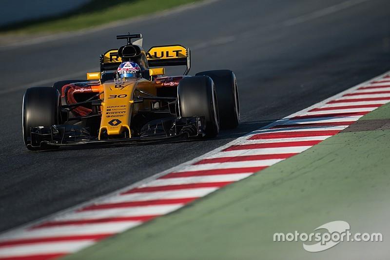 Палмер назвав головну сильну сторону нової машини Ф1 Renault
