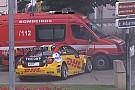 WTCC Коронель врезался в пожарную машину на тренировке WTCC