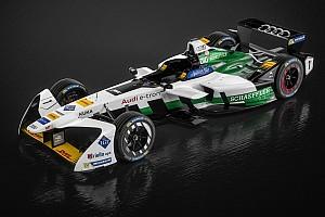Formule E Nieuws Audi toont auto voor eerste seizoen als fabrieksteam in Formule E