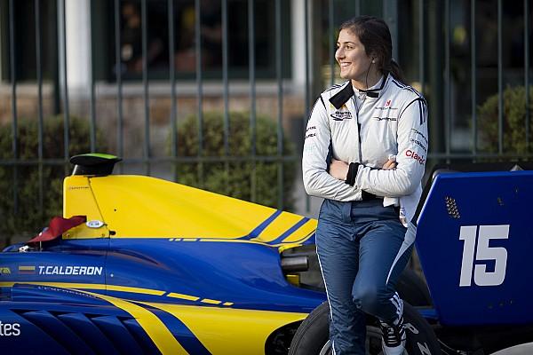 Кальдерон дебютирует в Формуле V8 3.5 в Бахрейне