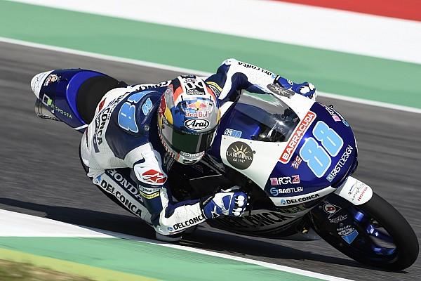 Moto3 Reporte de calificación Martín se convierte en 'mister pole' con la quinta de la temporada