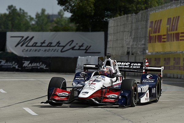 IndyCar-Double-Header in Detroit: Graham Rahal dominiert Rennen 1