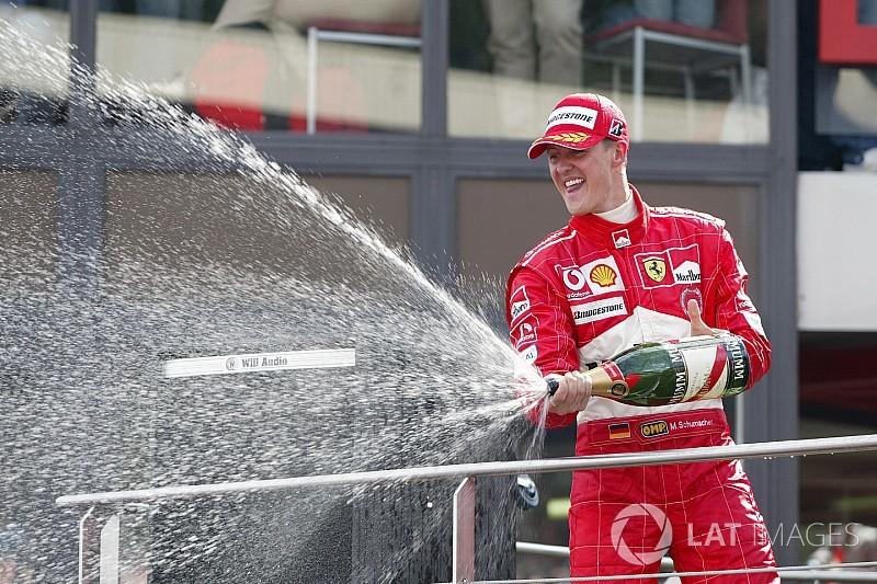 Pesquisa: Schumacher é o maior piloto da história da Ferrari
