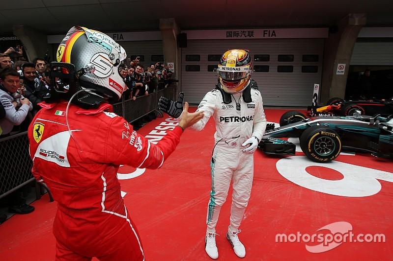 """Formel 1 2017: Ferrari schiebt Platz 2 mit Vettel in Shanghai auf """"Pech"""""""