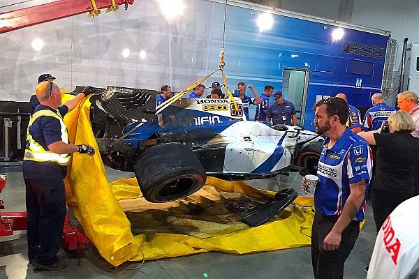 IndyCar Após acidente no quali, Gutierrez pode não correr em Toronto