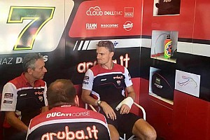 WSBK Preview Ducati: Davies attende l'esito della visita FIM per Laguna Seca