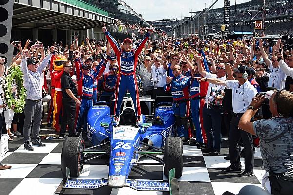 IndyCar 速報ニュース 【インディ500】佐藤琢磨「みんなに感謝。本当に、本当に嬉しい」