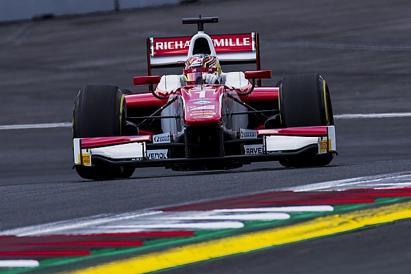 Леклер выиграл первую гонку Ф2 в Австрии, Маркелов восьмой