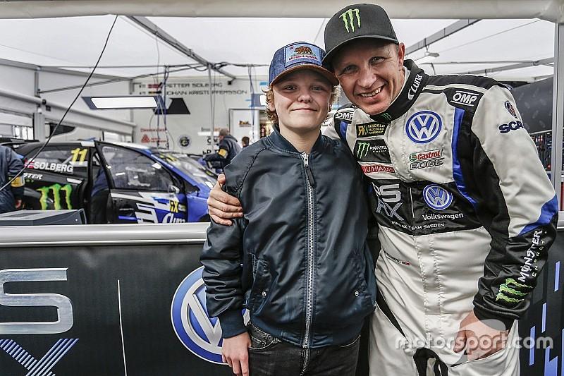 Il figlio di Solberg diverrà il pilota più giovane della storia nel RallyCross