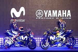 MotoGP Noticias de última hora Yamaha presentó los colores de la moto de Rossi y Viñales para 2018