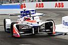 Formel E Mahindra: Randstein war schuld an Rosenqvist-Aus