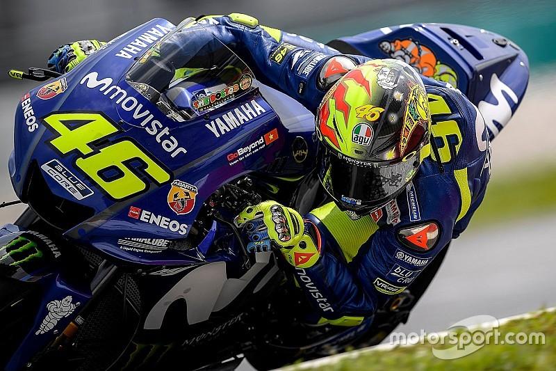 Rossi Yamaha'nın ortalamanın altında kaldığı testin ardından endişeli