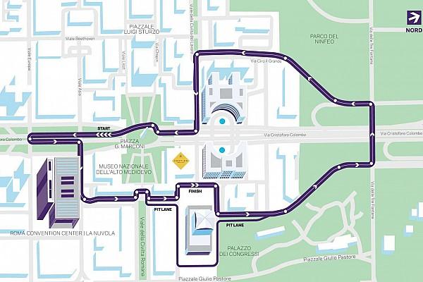 Formula E Noticias de última hora La Fórmula E desvela el circuito que usará en el ePrix de Roma