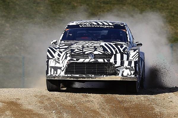 Ралі-Крос Важливі новини Volkswagen розпочала тести нової машини WRX